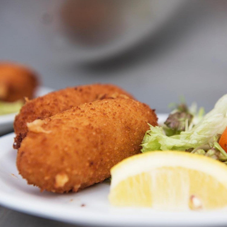 """Croquettes aux crevettes de la Mer du Nord """"Artisanales"""""""