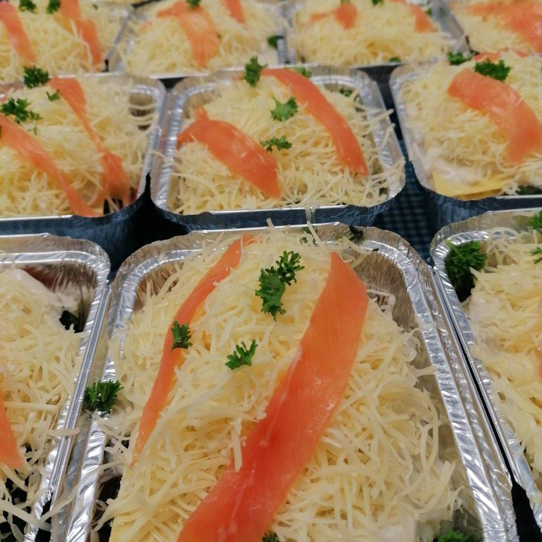 Lasagnes Saumon et Epinards