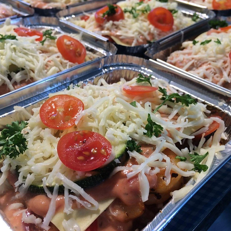 Lasagnes aux Scampis et Légumes de Provence